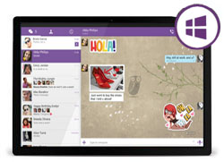 Скачать Viber для Windows 8 Tablet